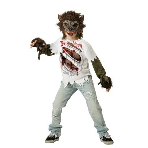 Boys Werewolf Halloween Costume Size XL, Boy\u0027s, Multi
