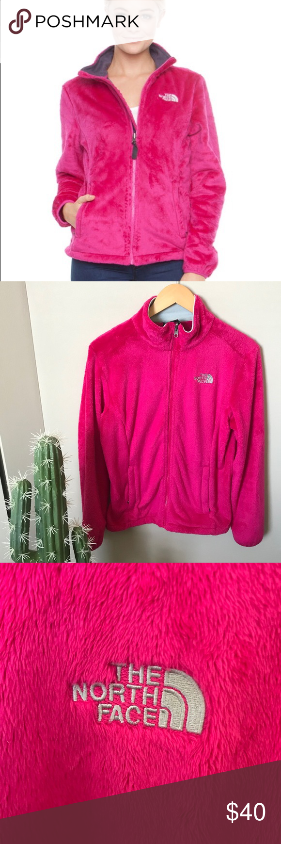 Pink Fuzzy North Face North Face Jacket The North Face Fuzzy Jacket [ 1740 x 580 Pixel ]