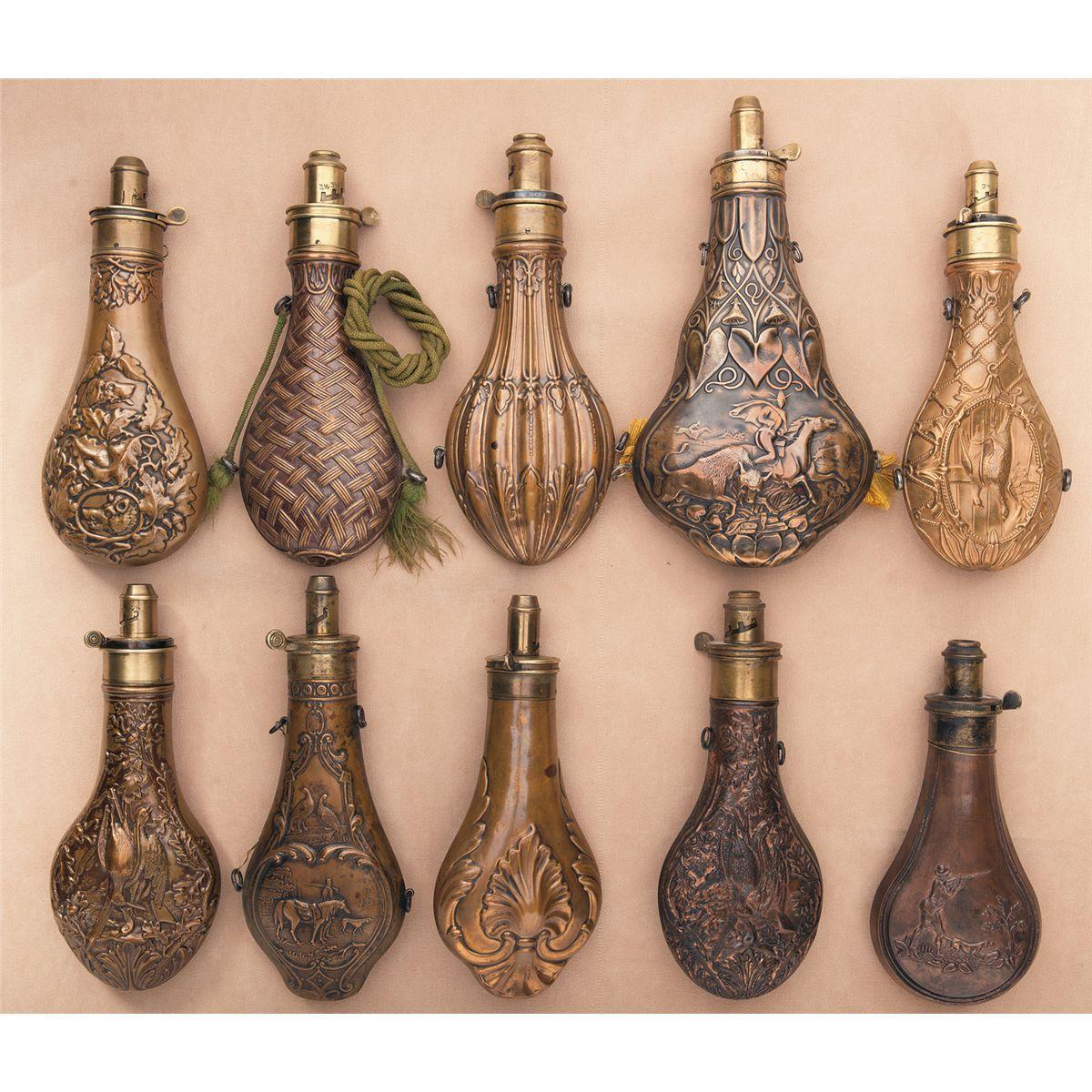 Risultati immagini per gunpowder flask 1500