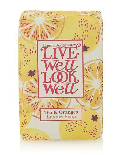 Tea & Oranges Soap 150g | M&S