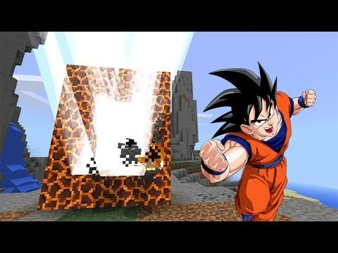 PORTAL to the DRAGON BALL DIMENSION | Minecraft PE - YouTube