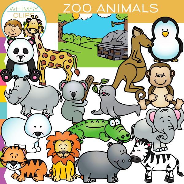 Related image Cute animal clipart, Zoo animals, Cartoon