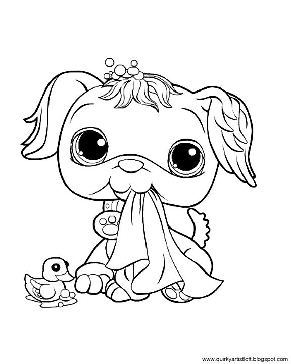 Quirky Artist Loft Littlest Pet Shop Free Printable