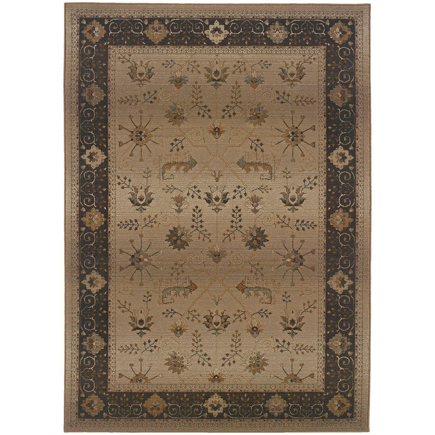 Genesis 112M Beige Traditional Rug by Oriental Weavers