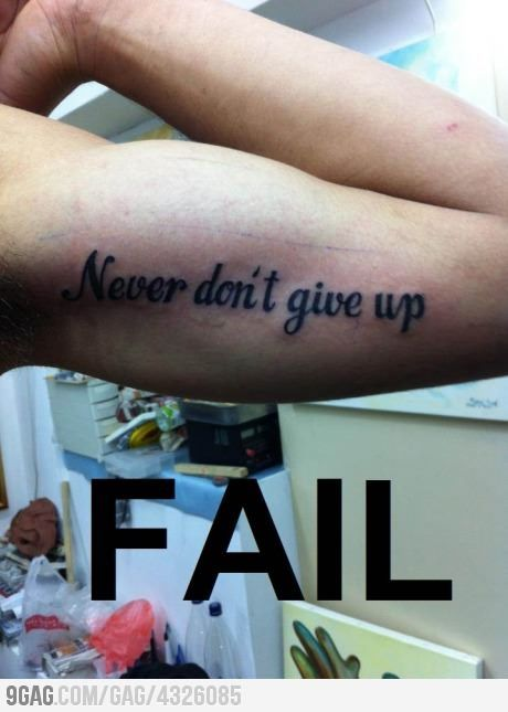 such a fail. I feel bad for this person..