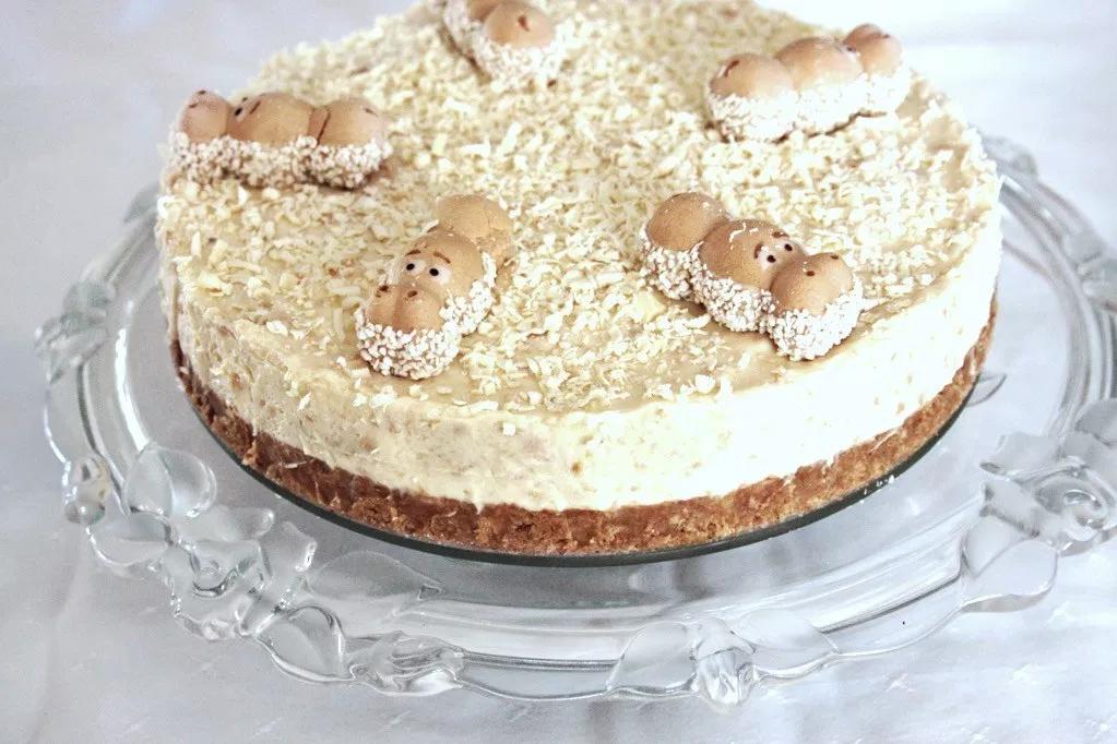 Ricetta Cheesecake Nutella E Kinder Bueno.White Chocolate Kinder Bueno Cheesecake What S New Lou Cheesecake Recipes Kinder Bueno Cheesecake Banana Bread Recipe No Baking Soda