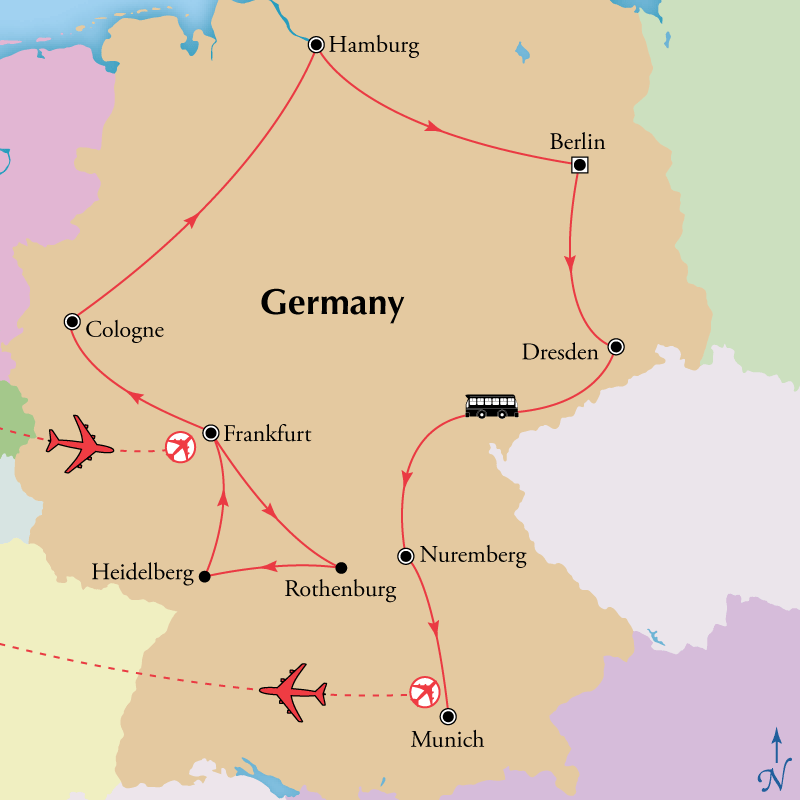 12 Day Classic Germany,Tour Central Europe, Central Europe Travel package - Virgin Vacations