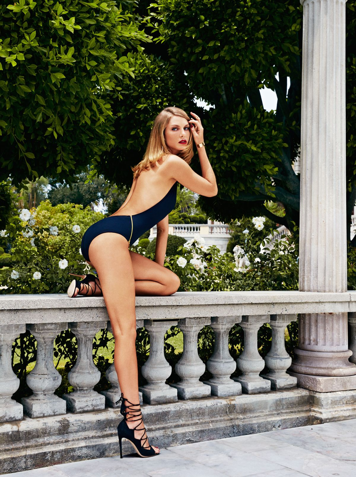 Angela Lindvall by James Macari for Maxim Magazine October 2014