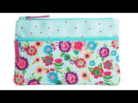 56b729d55fc3 DIY Zipper Pouch Bag Tutorial • DIY BAG VIDEO TUTORIAL - YouTube ...