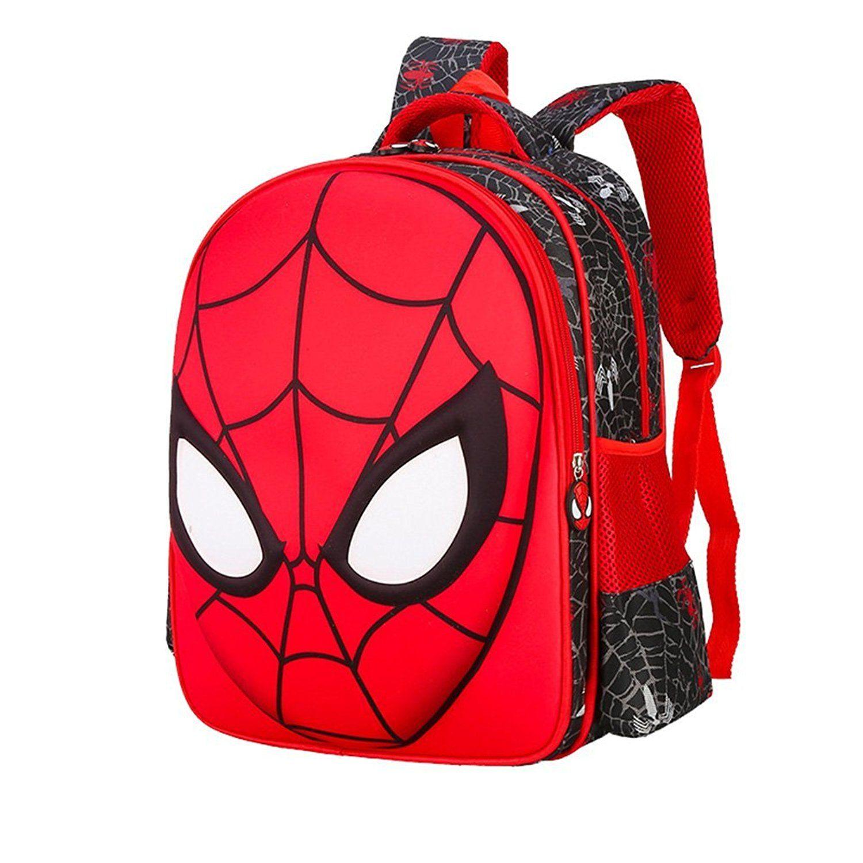 gekey toddler boys cute spiderman bookbags preschool school
