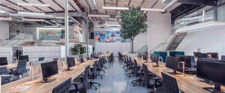 Headspace office by Kelly Robinson, Santa Monica ...