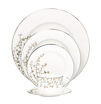Kate Spade New York® Gardner Street Platinum 5-pc. Place Setting available at @Bergner's