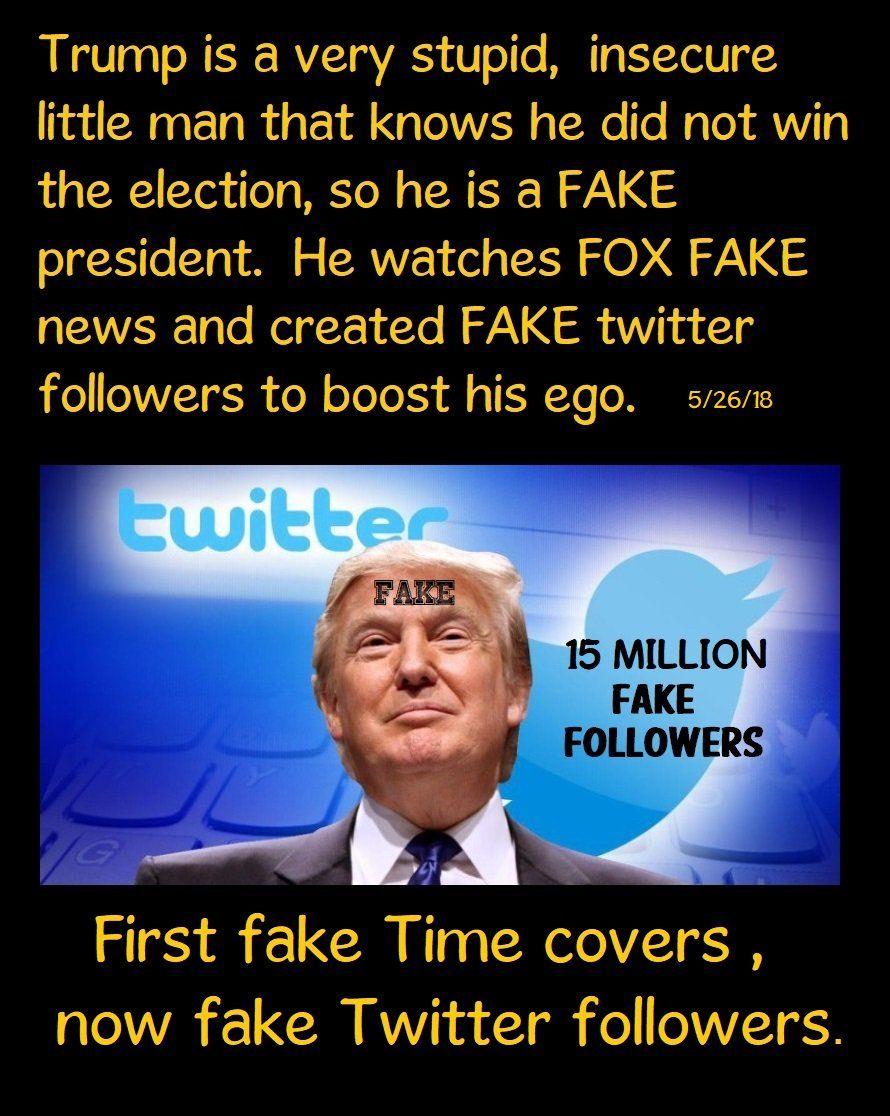 Liberallou Jerashkimbrown Twitter Trump Love Check And Balance Fake Followers