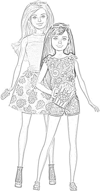 The Holiday Site Coloring Pages Of Barbie Free And Downloadable Barbie Coloring Barbie Barbie Coloring Pages