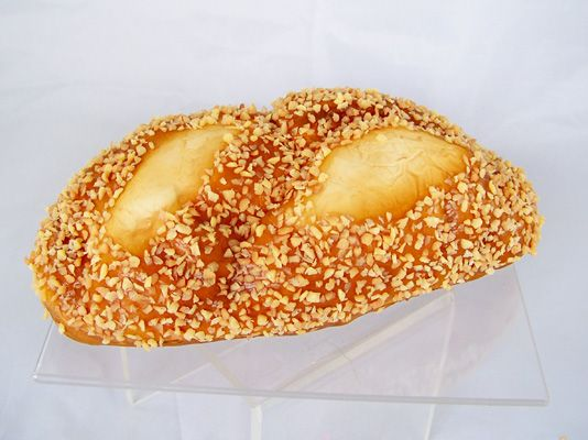 """Whole Grain French Bread Loaf - Faux Whole Grain French Bread Loaf  Faux Whole Grain French Bread Loaf  Artificial Whole Grain French Bread Loaf is soft to the touch Dimensions: 9"""" x 3"""""""