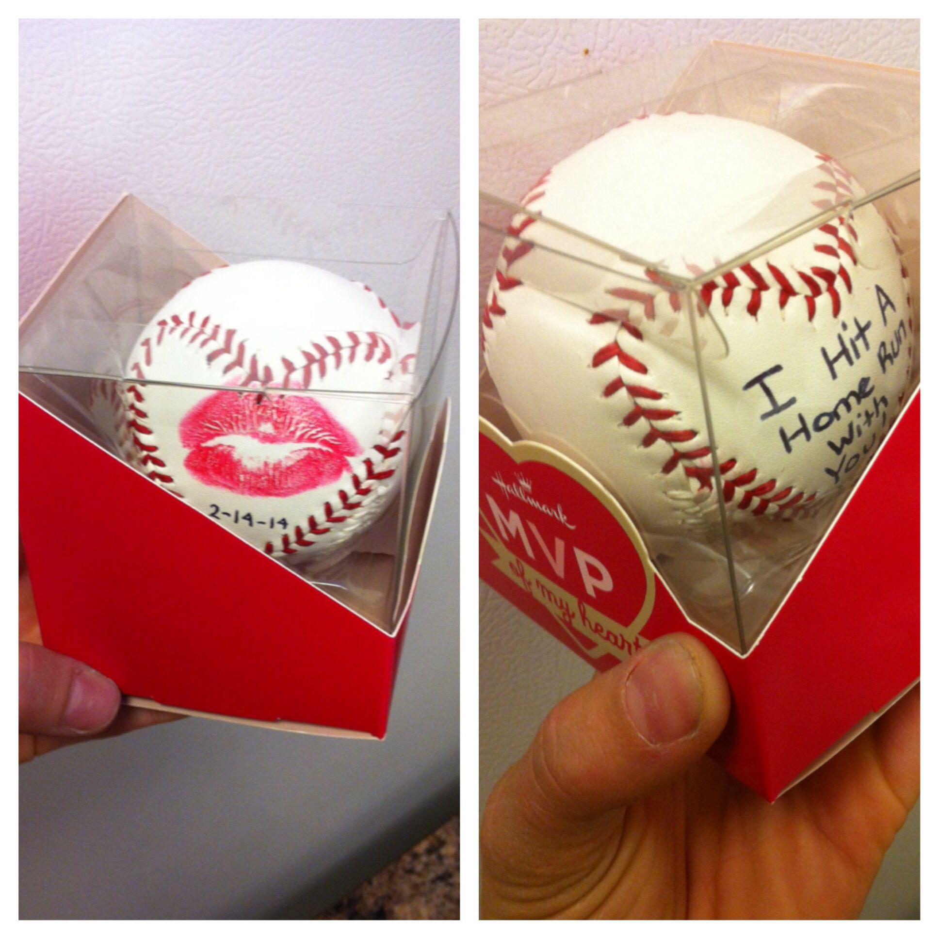 Gift idea baseball boyfriend kamrynwofford – What to Write on a Valentines Card for Your Boyfriend