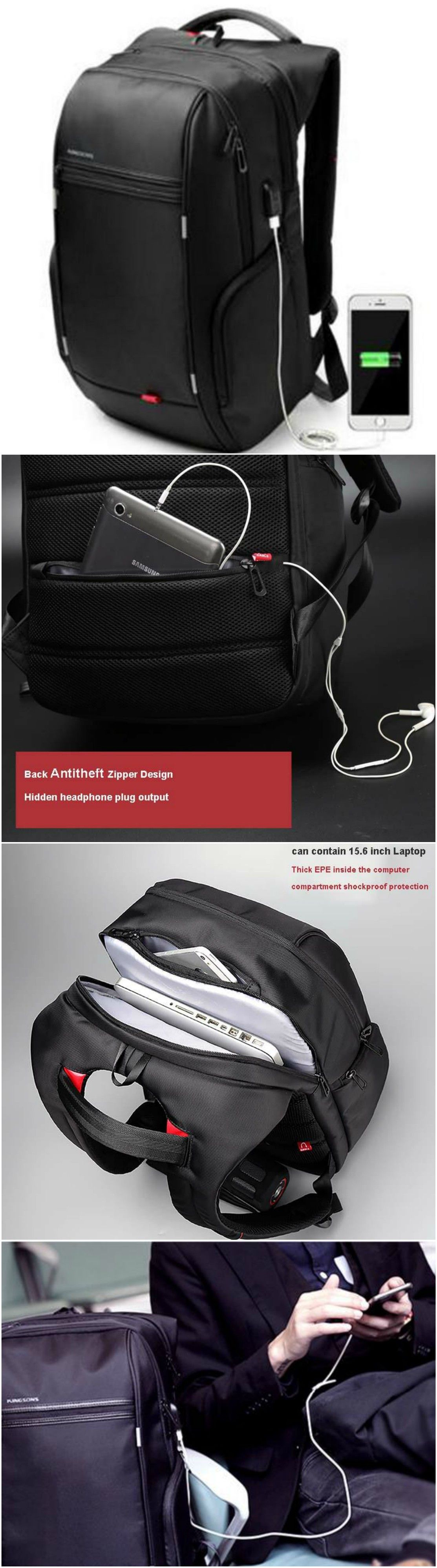 new anti theft notebook laptop mochila backpack 15 6 inch water