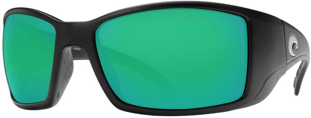 Costa Del Mar Mens Blackfin 580g Round Sunglasses