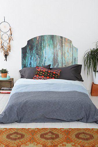 Wood headboard | Dulces sueños | Pinterest | Dormitorio, Camas y ...