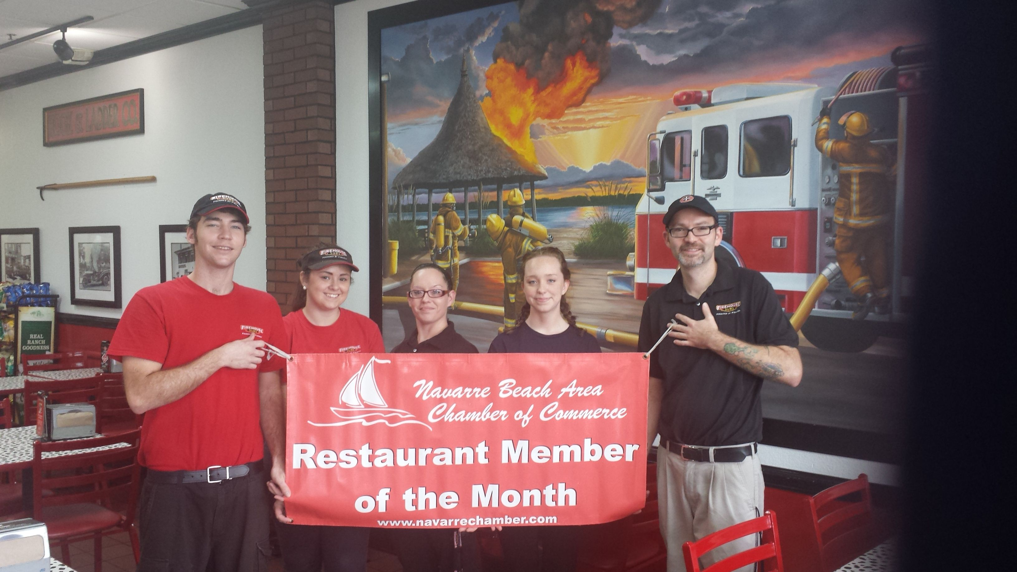 Congrats To The Navarre Chamberu0027s Restaurant Member Of The Month: Firehouse  Subs #shopnavarre #