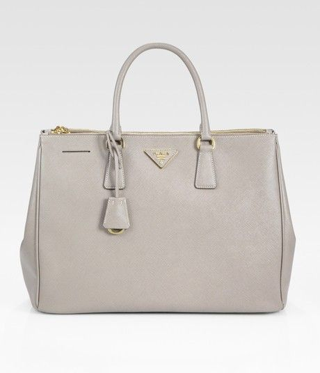 33c82e97f496 The Peak of Tres Chic: Lux Saffiano Prada Tote | wish list | Prada ...