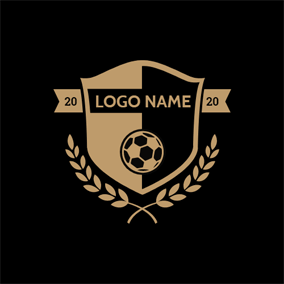 Football Logo Maker Free Football Logo Designs Designevo In 2020 Football Logo Design Fitness Logo Design Logo Design