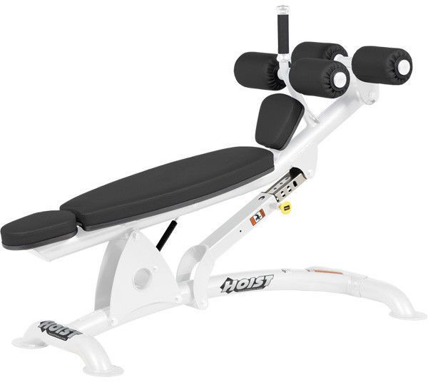 Hoist Adjustable Abdominal Bench Hoist With Images Commercial Fitness Equipment No Equipment Workout Hoist