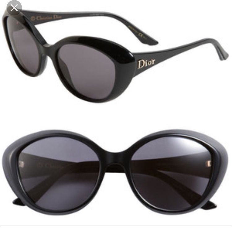 Dior Rounded Chunky Cateye Sunglasses