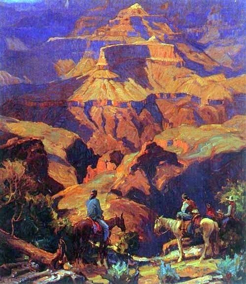 Carl Oscar Borg (1879 - 1947), The Hush of Evening