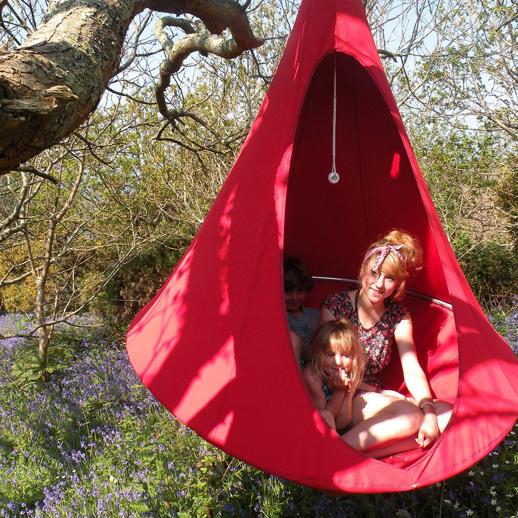 Inspired By The Beautifully Stitched Together Hanging Nests Of The Weaver Bird The Cacoon Hammock Is A Perfect T Cocoon Hammock Cacoon