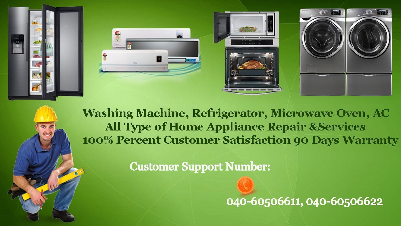 We are the well known service center in repairing all kinds of home