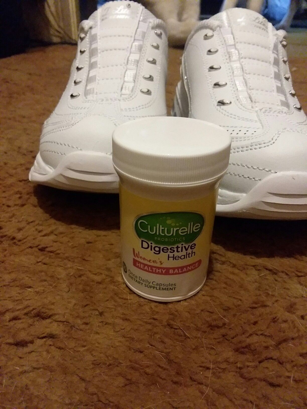ad #begoodinside #freesample I try to stay healthy by taking my ...