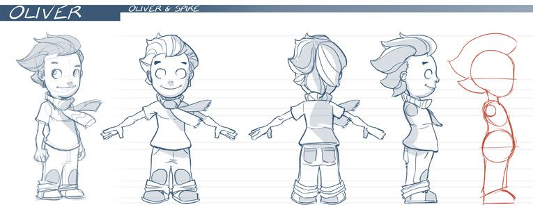 Cartoon Character Design Templates : Oliver character sheet model pinterest