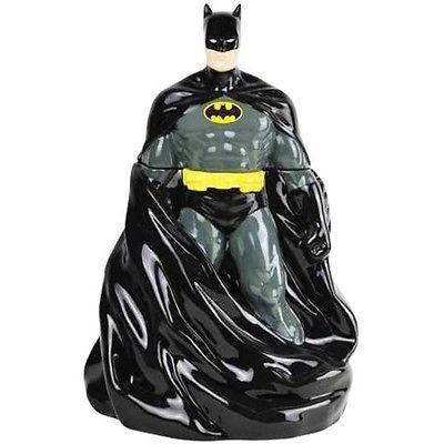 Cookie Jar Bg Custom DC COMICS BATMAN FULL FIGURE W CAPE COOKIE JAR WG BG Famous Pots