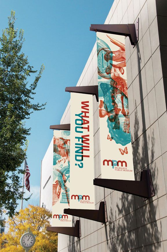 Simple Exhibition Stand Mockup : Milwaukee public museum free for residents on