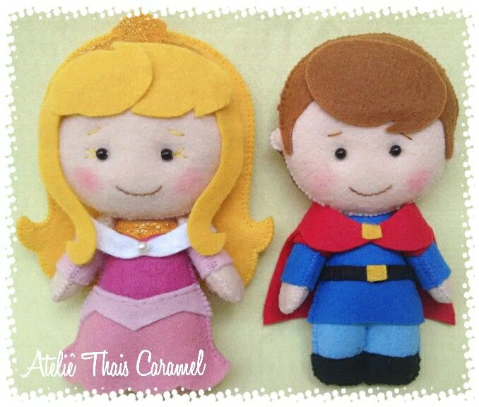 Casal fofo. Aurora e Príncipe Philip.