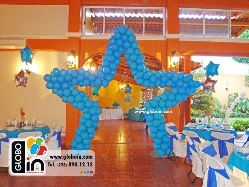 Estrellas de globos xv a os decoraciones para xv a os for Decoracion de 15 anos con globos