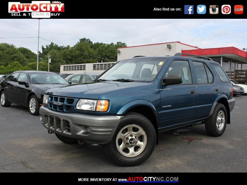 This 2000 Isuzu Rodeo S Ls Lse Is For Sale At Autocity Come Visit The Used Car Dealership Of Auto City In Charlotte Nc And Check Out This Usedcar For