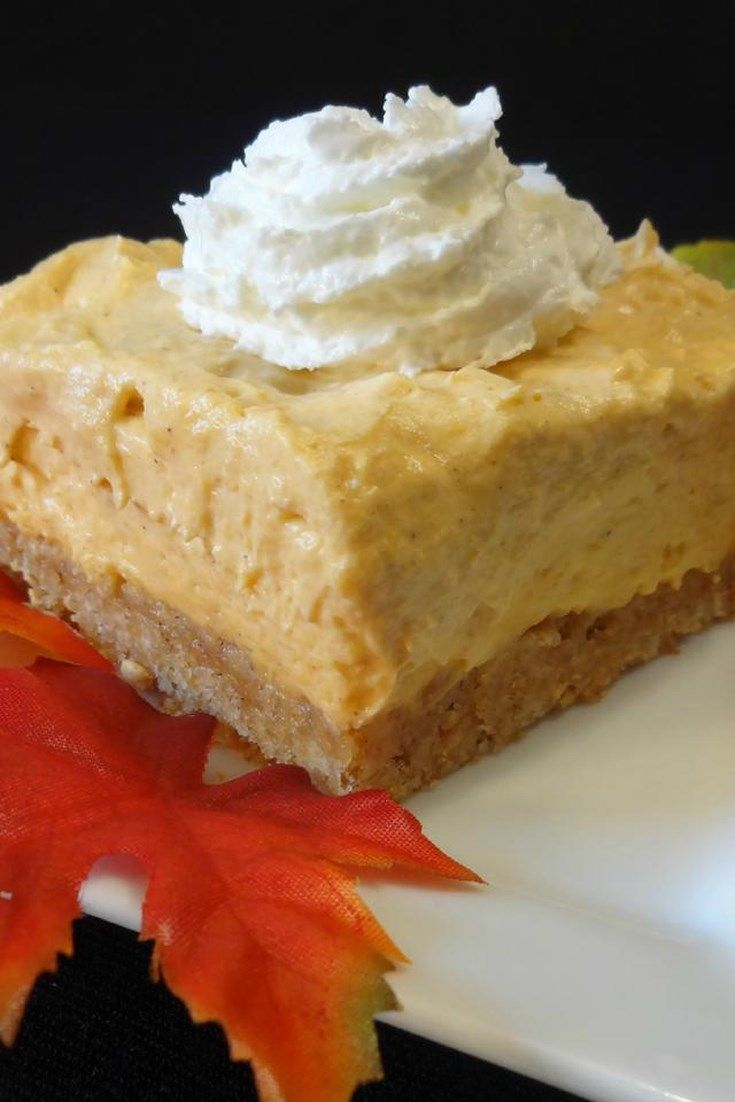 Whipped Pumpkin Pie #pumpkinpie