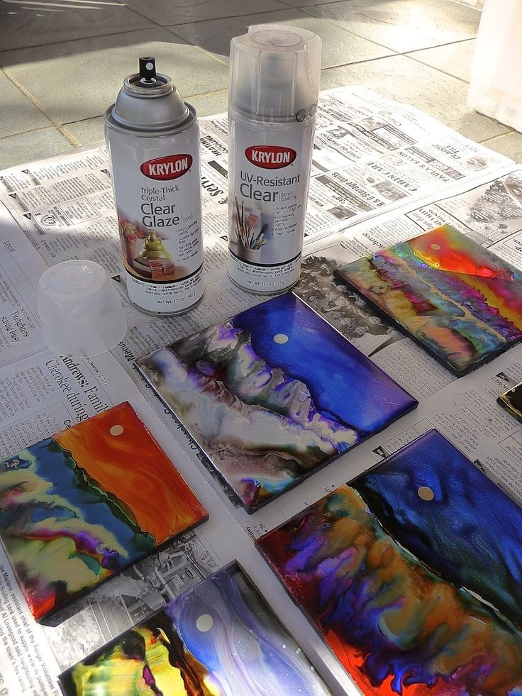 How To Seal Acrylic And Watercolour Paint