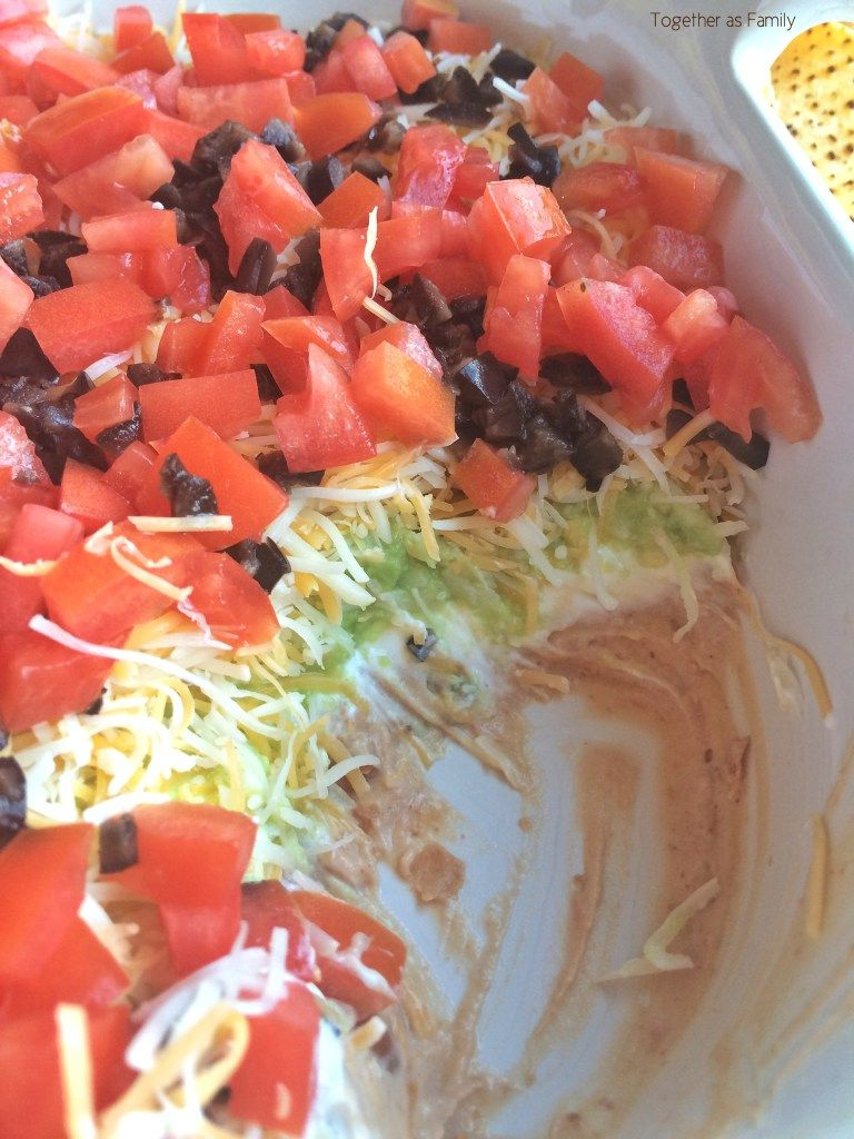 (the best!) 7 Layer Dip | Together as Family