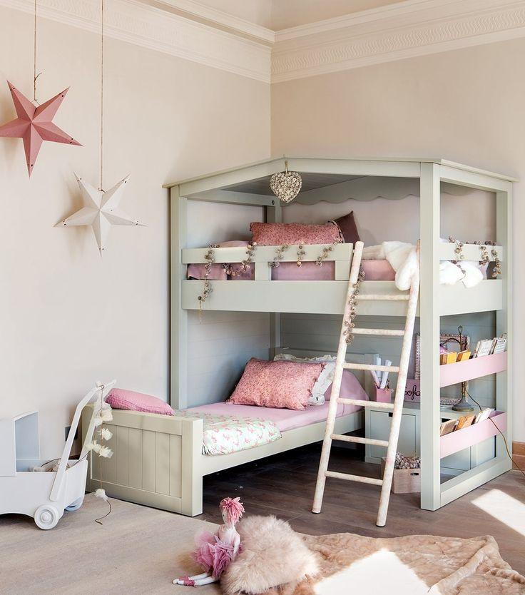 Quartos com beliche so pura diverso  cama  Kinderkamer