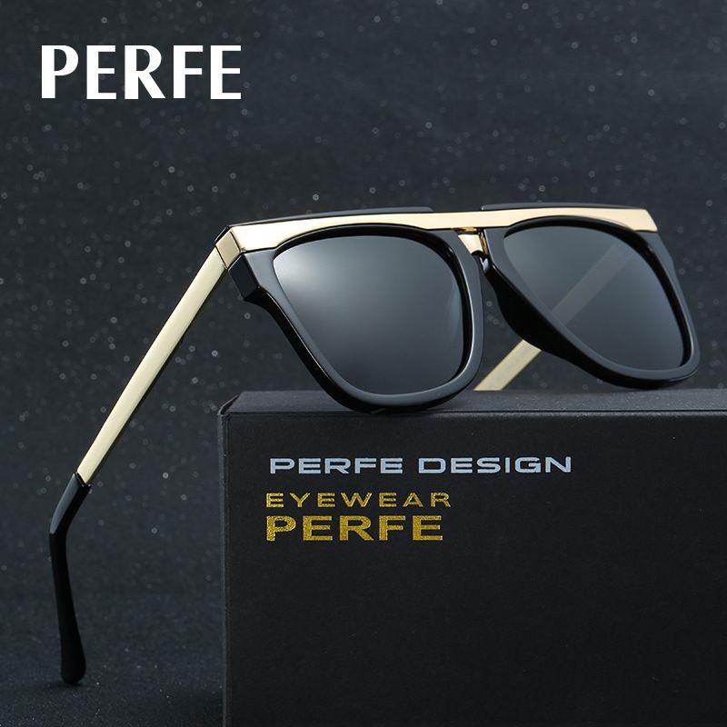 79b9587695 PERFE Brand Men s Handsome Luxury Sunglasses Polarized Lens Driving Fishing  Sunglass Vacation Eyewear AccessoriesFor Men UV400 balikcilik recreational  ...