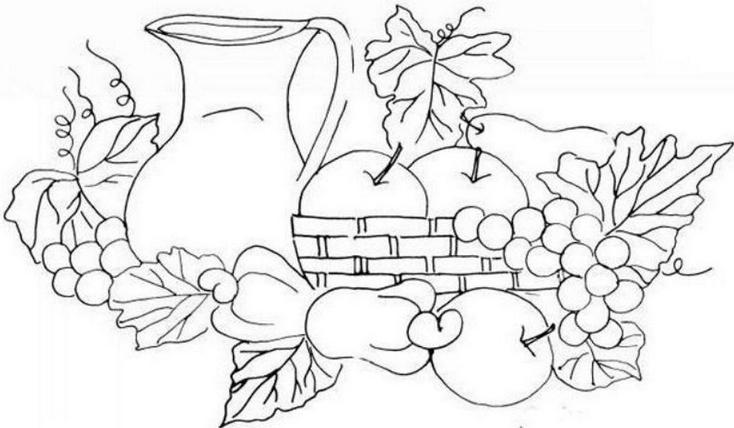 Desenhos De Frutas Para Colorir Desenhos Para Imprimir De