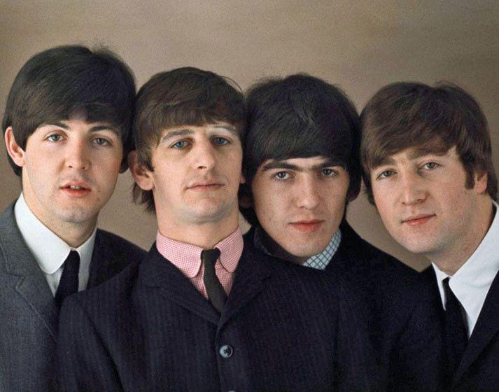 """The Beatles John Lennon and Stuart Sutcliffe 14 x 11/"""" Photo Print"""