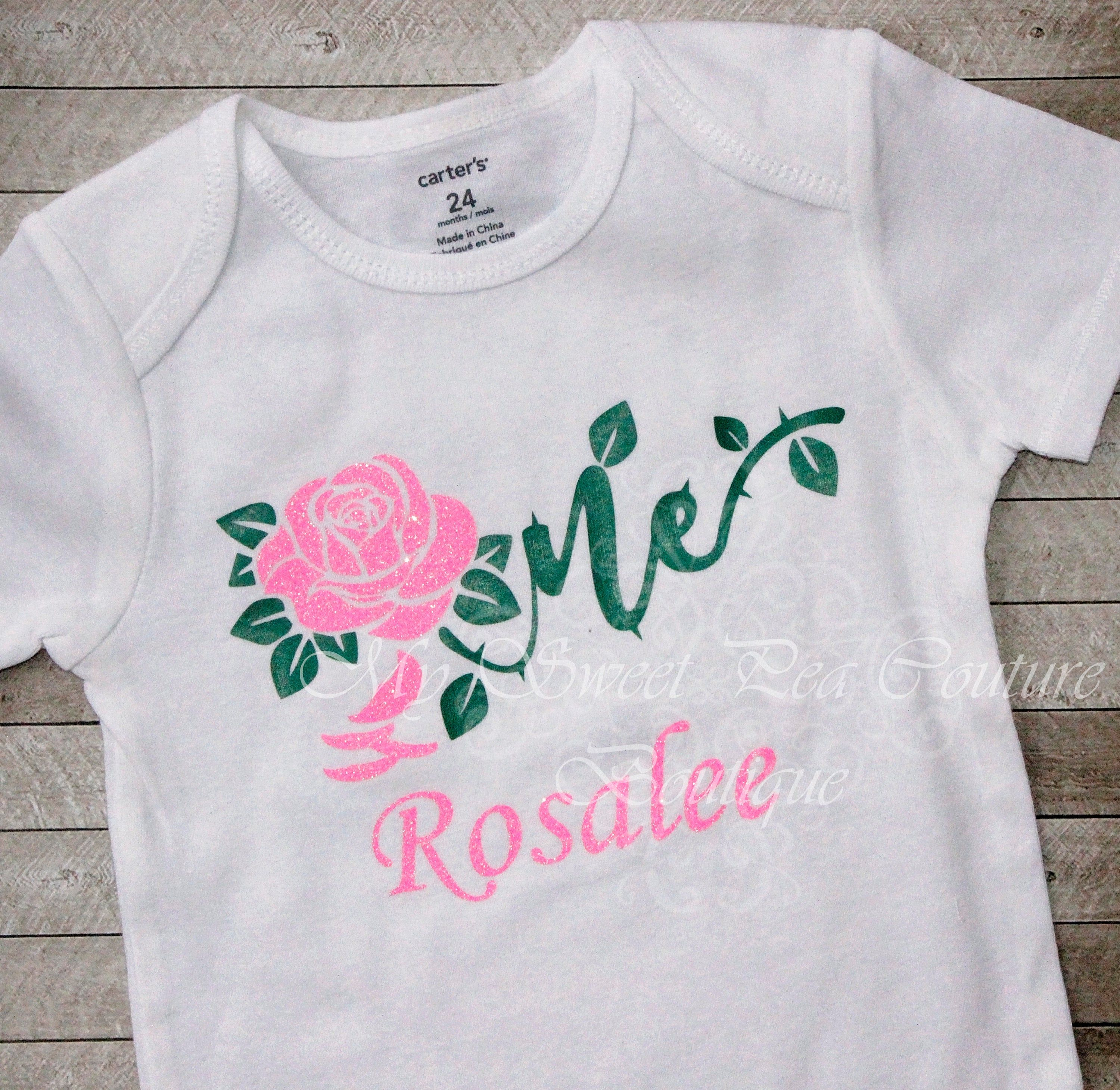 Blue Velvet Rose /& White UK 8 One of One Handmade Top The Fitted T Limited  Sustainable Fashion