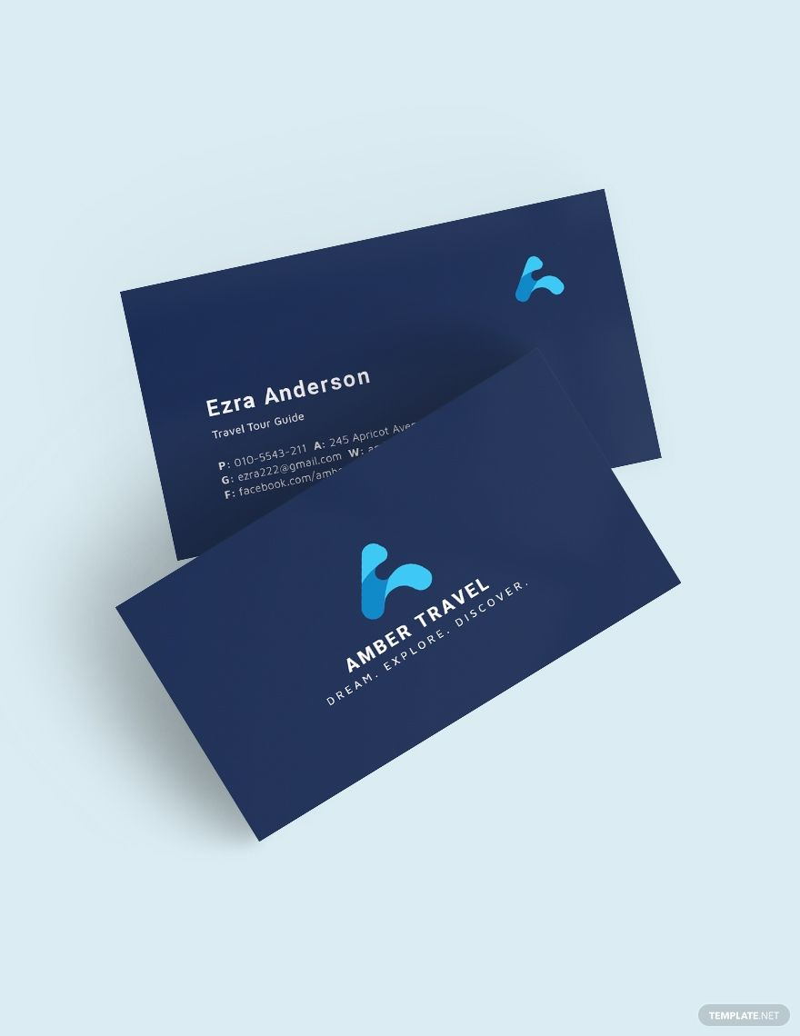 Blue Creative Business Card Template Word Psd Apple Pages Illustrator Publisher Business Cards Creative Templates Business Card Template Word Business Cards Creative