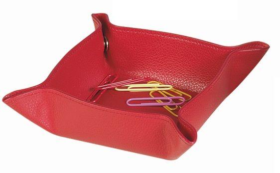 Un petit accessoire de rangement original rouge