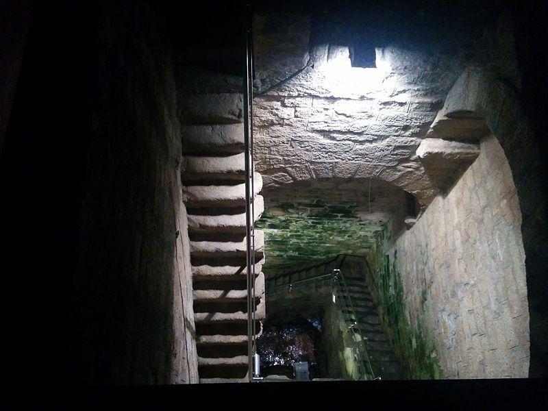 Construcción Romana En El Pantano De Proserpina Embalse De