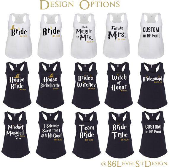 Harry potter bachelorette shirt set house by for Bridal shower t shirt sayings